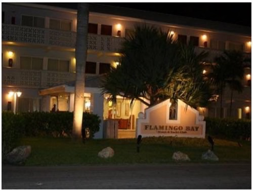Flamingo Bay Hotel and Marina  night